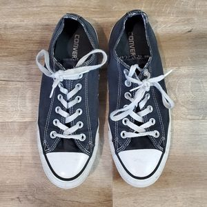 Converse All Star Black Sneakers Size 9